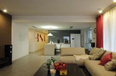 56万打造现代豪华的三室两厅空间