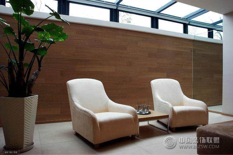 上海美国别墅-阳台装修图片