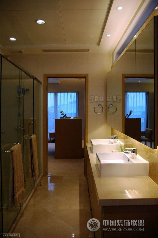 洗手间装修效果图图片 编号 1037147 室内设计 环境居住