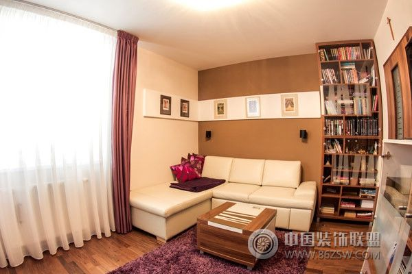 温馨甜美原木家居-书房装修效果图-八六(中国)装饰