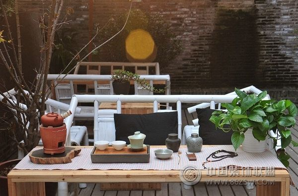上海文艺古典茶社 单张展示 茶馆装修效果图