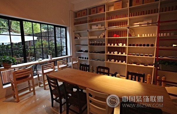 上海文藝古典茶社-茶館裝修圖片