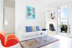 40平米蓝色活力公寓