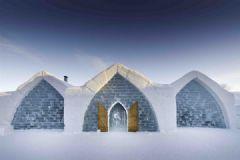 加拿大冰雕旅馆