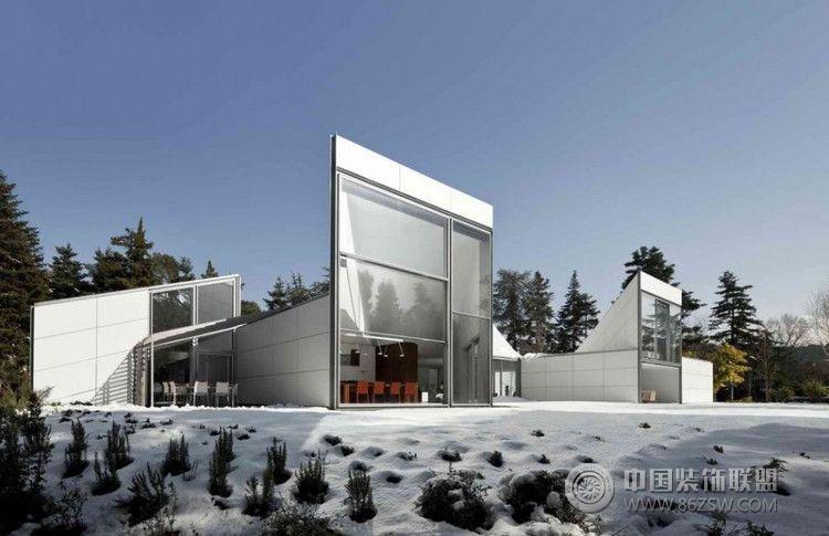 西班牙aa别墅 整套大图展示 现代风格装修效果图 八六装饰