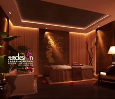 白玫瑰美容SPA——类型:美容spa设计项目现代风格小户型