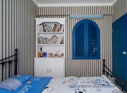 地中海儿童房装修图片