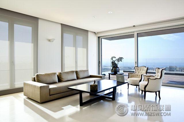 15楼的住宅 整套大图展示 现代风格装修效果图 八六装饰网