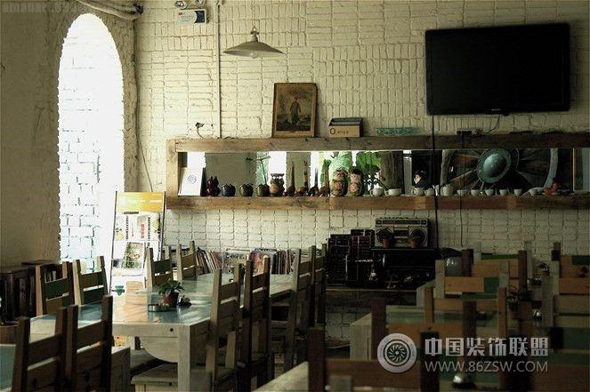 蜜桃咖啡店-单张展示-咖啡厅装修效果图-八六(中国)