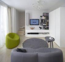 65平米超现代色彩公寓
