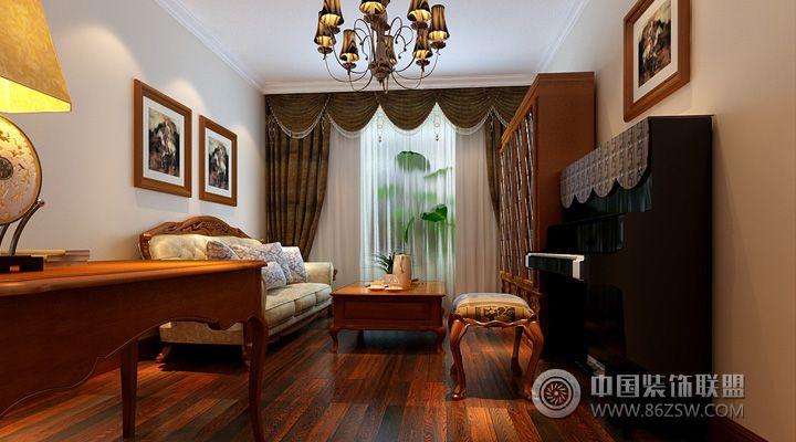 歐式客廳裝修圖片