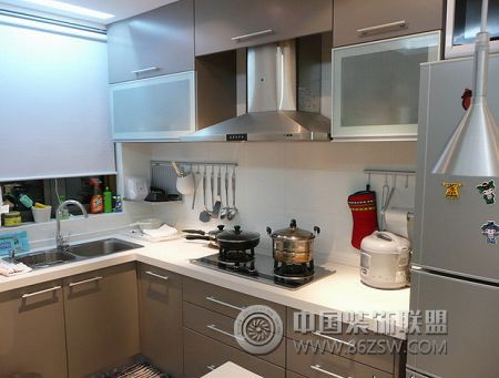 70平米時尚復式新居-廚房裝修圖片