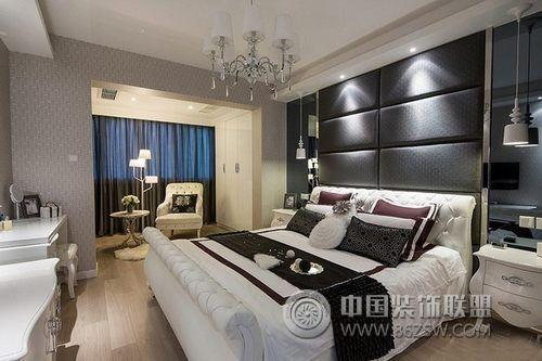 23万打造110平米复式雅居-卧室装修图片