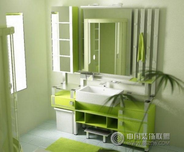 淡绿色欧式家具装饰图