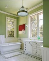 绿色清新浴室案例三