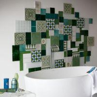 绿色清新浴室案例四