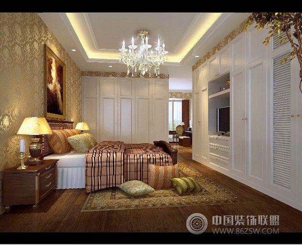 中铁西城现代简欧效果图欧式客厅装修图片