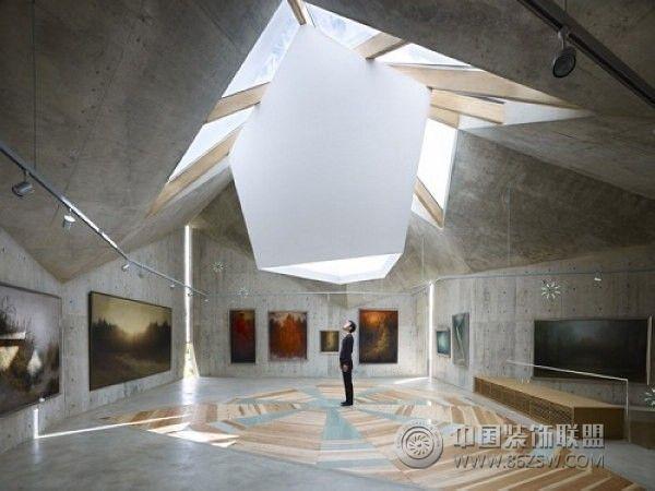 日本折纸私人博物馆展厅装修图片