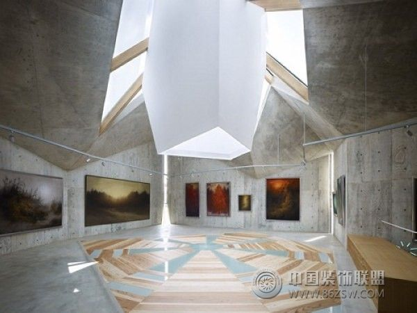 日本折纸私人博物馆 单张展示 展厅装修效果图 -日本折纸私人博物馆