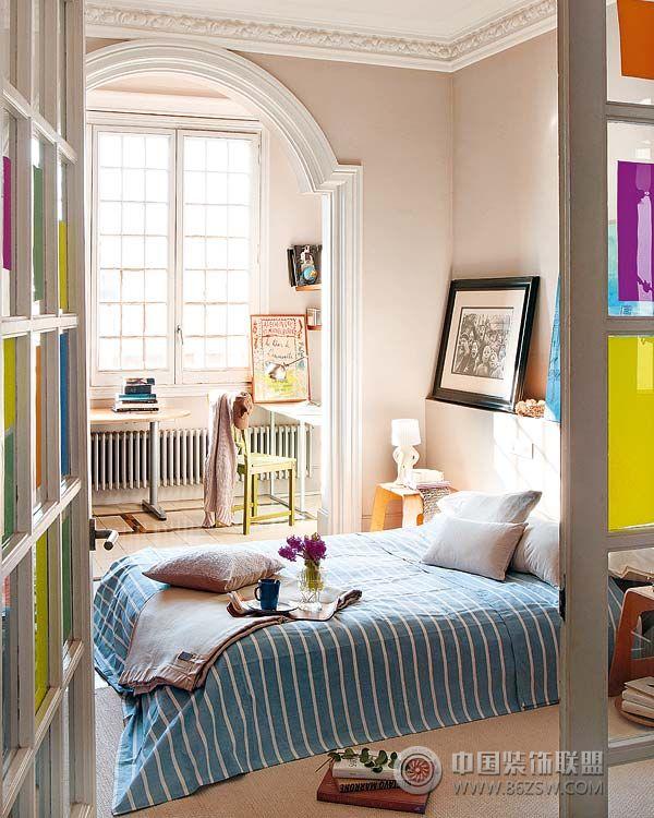 92平米简约时尚公寓 简约风格装修效果图 八六装饰网装修