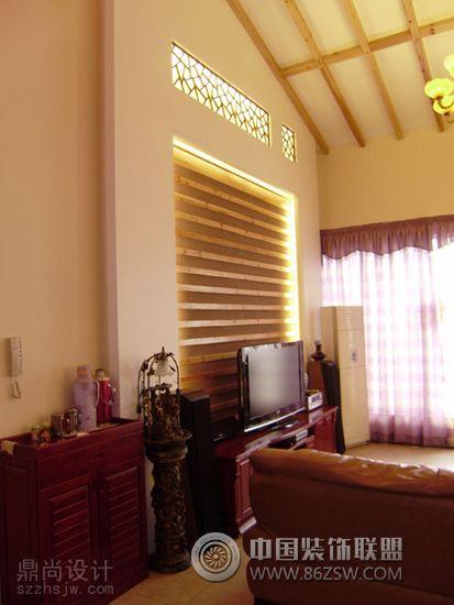 万科第五园叠墅设计五室二厅二卫装修案例效果图 180平米