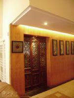 深圳中式家装设计-宝安第五园复式楼设计中式风格复式