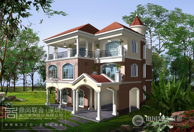 深圳别墅建筑外观设计