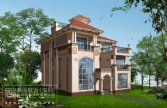 深圳别墅建筑外观设计欧式风格别墅