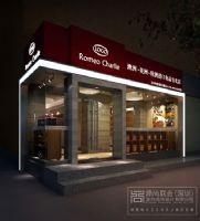 深圳红酒专卖店装修设计