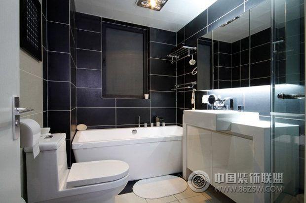 7万打造73平米现代家居 卫生间装修效果图 八六装饰