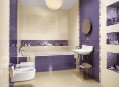 浪漫紫色卫浴