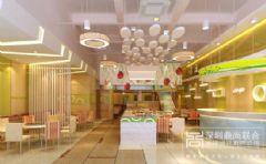 深圳餐厅装修设计-宝安小和牛餐厅装修设计