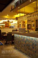 深圳西餐厅设计装修_南山圣多斯餐厅装修设计 实景