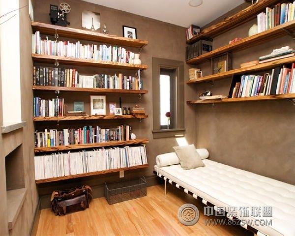 现代风格书房装修效果图