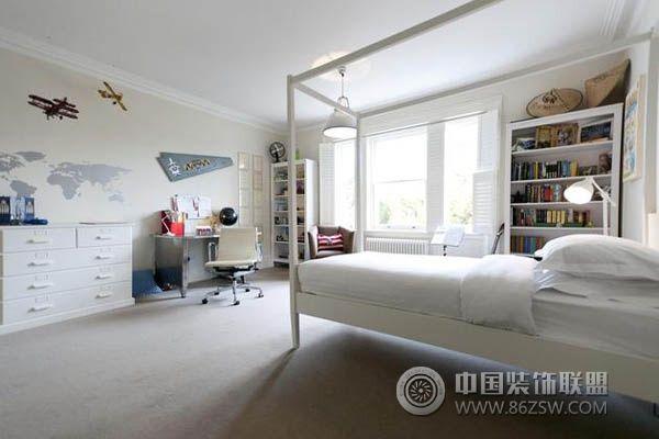 奢华度假别墅现代卧室装修图片
