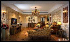 温江别墅装修|温江美式风格设计|温江最大装修公司美式风格大户型