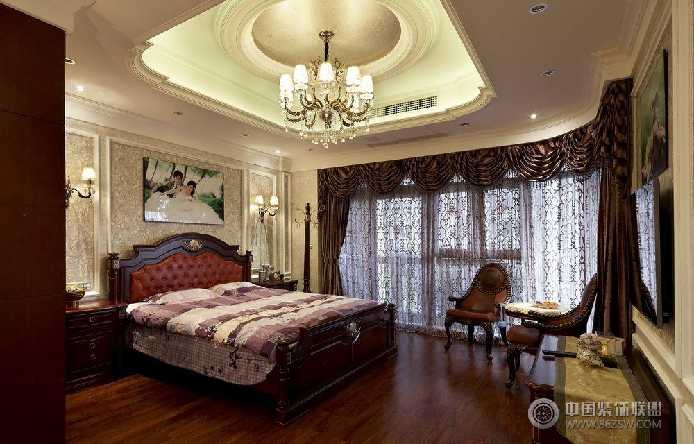 五居室 300平米 客厅装修效果图 欧美风情 五居室 装修设计