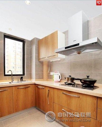 10万装102平米北欧公寓欧式厨房装修图片;