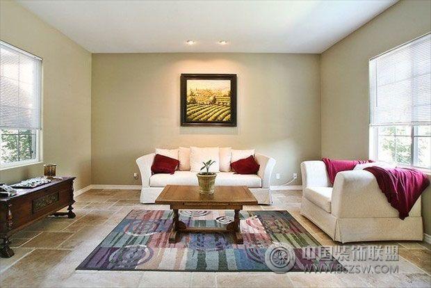 简约美式乡村风格二-客厅装修图片