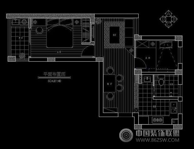 6万打造65平米经典蜗居_现代小户型装修效果图_八六()