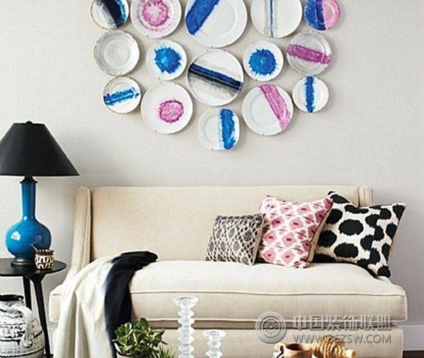 创意墙面设计现代客厅装修图片