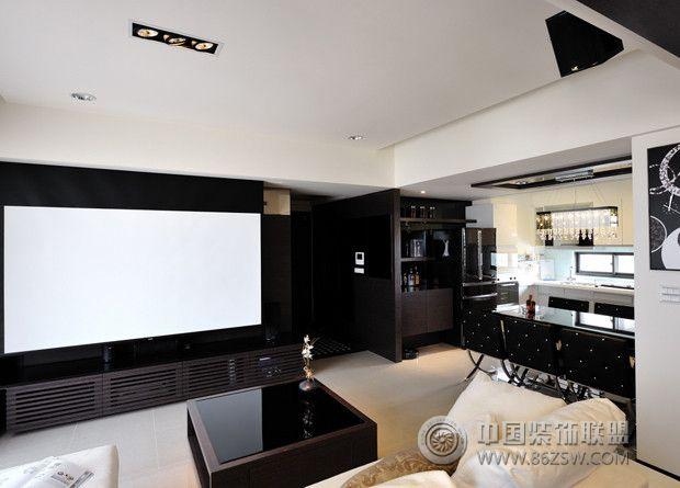100平米奢華時尚家居-客廳裝修圖片