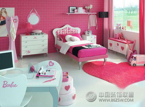 芭比娃娃主题卧室-卧室装修图片