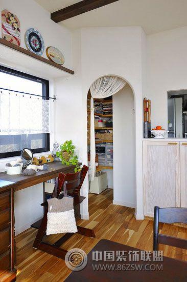 67平米日本小户型简约书房装修图片