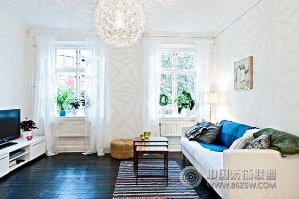 新艺术风格公寓-客厅装修图片