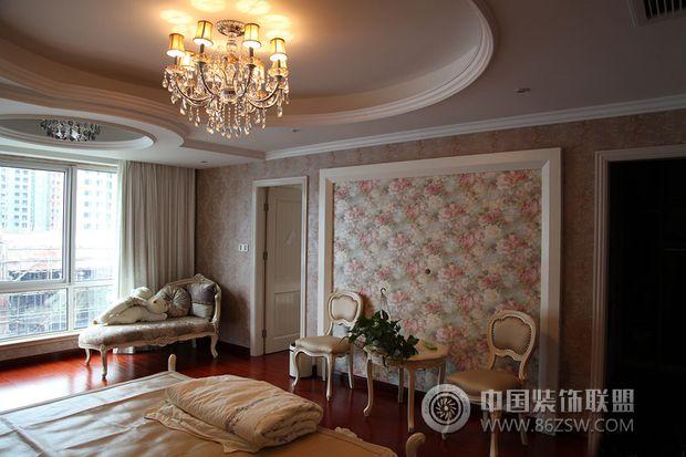 185平米美式复式豪宅-卧室装修图片