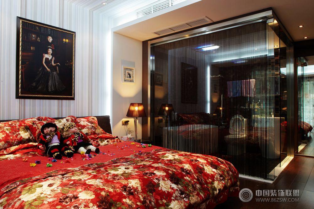 13万打造150平米简约阳光婚房 卧室装修效果图 八六装饰网