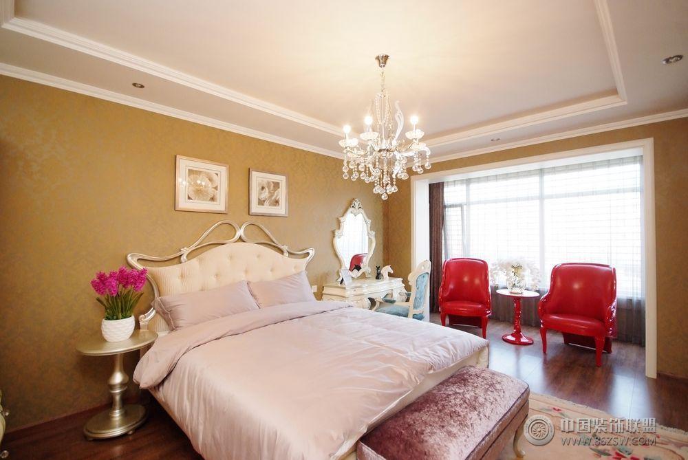 252平米巴洛克风情豪宅-卧室装修图片