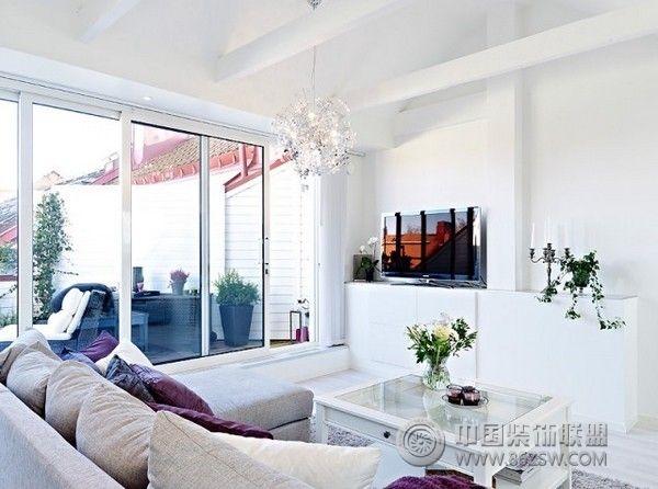 104平米后现代简约复式公寓-客厅装修图片图片