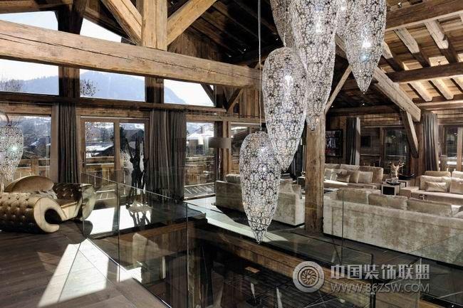 法国豪华木屋-整套大图展示-混搭风格装修效果图-八